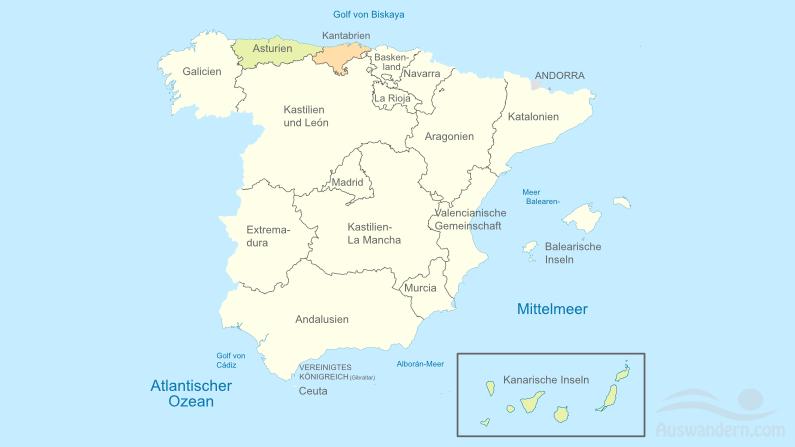 Asturien und Kantabrien