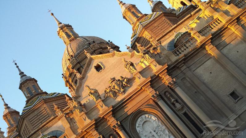Zaragoza Stadt Spanien