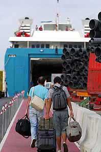 Von Spanien nach Schottland reisen. Fähre Amsterdam – Newcastle