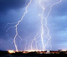 Gewitter – Schwankungen im Stromnetz
