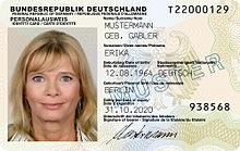 Personalausweis für Auslandsdeutsche in Spanien