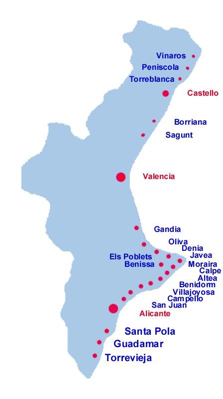 Valencia, Land