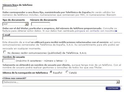 Papierlose Rechnungen von movistar – Telefonrechnung in Spanien